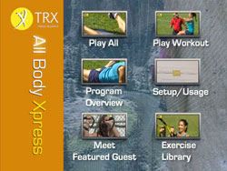 The TRX Suspension Trainer